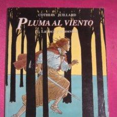 Cómics: PLUMA AL VIENTO 1 LA LOCA Y EL ASESINO NORMA. Lote 222081742