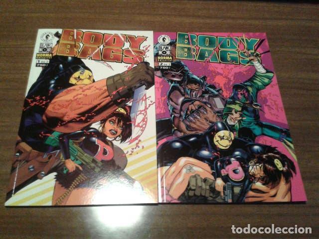 COMICS - BODY BAGS 1 Y 2 (COMPLETA) - JASON PEARSON - NORMA EDITORIAL (COL. BLANC NOIR) (Tebeos y Comics - Norma - Comic USA)