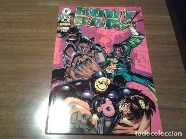 Cómics: Comics - Body Bags 1 y 2 (completa) - Jason Pearson - Norma editorial (COL. BLANC NOIR) - Foto 2 - 222136601