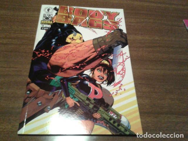 Cómics: Comics - Body Bags 1 y 2 (completa) - Jason Pearson - Norma editorial (COL. BLANC NOIR) - Foto 3 - 222136601