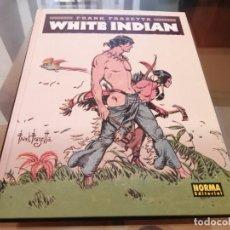Cómics: FRANK FRAZETTA WHITE INDIAN NORMA EDITORIAL 2016. Lote 222136646