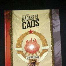Cómics: HÁGASE EL CAOS (VOLUMEN I), DE CAVA Y SEGUÍ (NORMA EDITORIAL). Lote 222138936