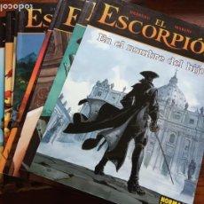 Cómics: EL ESCORPIÓN PACK CEC TOMO 1 2 3 4 5 6 7 8 9 Y 10 POR DESBERG Y ENRICO MARINI - NORMA EDITORIAL. Lote 222149246