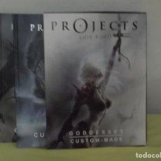 Cómics: PROJECTS : GODDESSES - NORMA - ESTUCHE - 2 LIBROS ILUSTRADOS - LUIS ROYO. Lote 222171685