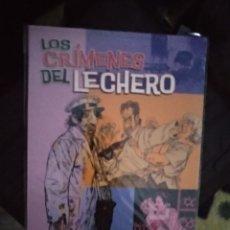 Cómics: LOS CRÍMENES DEL LECHERO. Lote 222182981