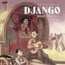 Cómics: DJANGO MANO DE FUEGO - NORMA / COMIC EUROPEO / TAPA DURA. Lote 222191021