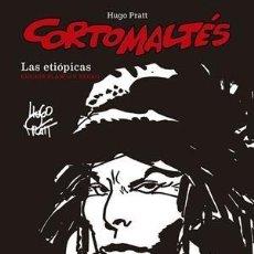 Cómics: CORTO MALTÉS 5 : LAS ETIOPICAS - NORMA / COMIC EUROPEO / EDICION BLANCO Y NEGRO / TAPA DURA. Lote 222191302