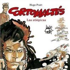 Cómics: CORTO MALTÉS 5 : LAS ETIOPICAS - NORMA / COMIC EUROPEO / EDICION COLOR / TAPA DURA. Lote 222191372