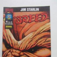Cómics: BREED VOL 1 Nº 4 STARLIN NORMA MUCHOS EN VENTA, MIRA TUS FALTAS ARX2. Lote 222191548