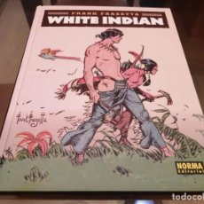Cómics: FRANK FRAZETTA WHITE INDIAN NORMA EDITORIAL 2016. Lote 222192676