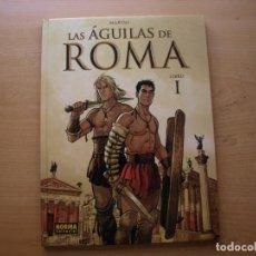Cómics: LAS AGILAS DE ROMA - LIBRO 1 - TAPA DURA - NORMA EDITORIAL - NUEVO. Lote 222220500