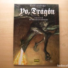 Cómics: YO, DRAGON - TOMO 1 DE 3 - EL FIN DE LA GENESIS - TAPA DURA - NORMA EDITORIAL - NUEVO. Lote 222231393