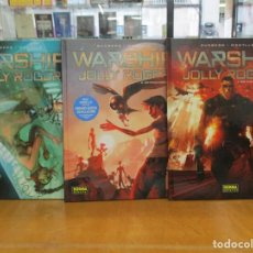 Cómics: WARSHIP JOLLY ROGER / Nº 1 , 2 Y 3 - RUNBERG /MONTLLO - NORMA EDITORIAL. Lote 222375095