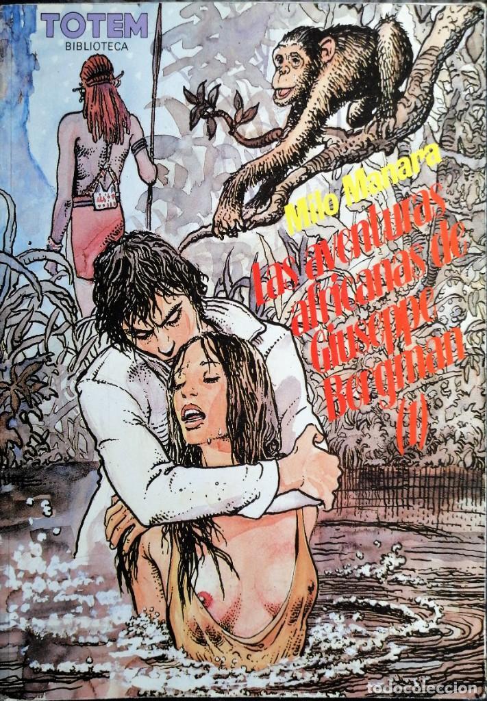 MILO MANARA - LAS AVENTURAS AFRICANAS DE GIUSEPPE BERGMAN (1) (Tebeos y Comics - Norma - Comic Europeo)