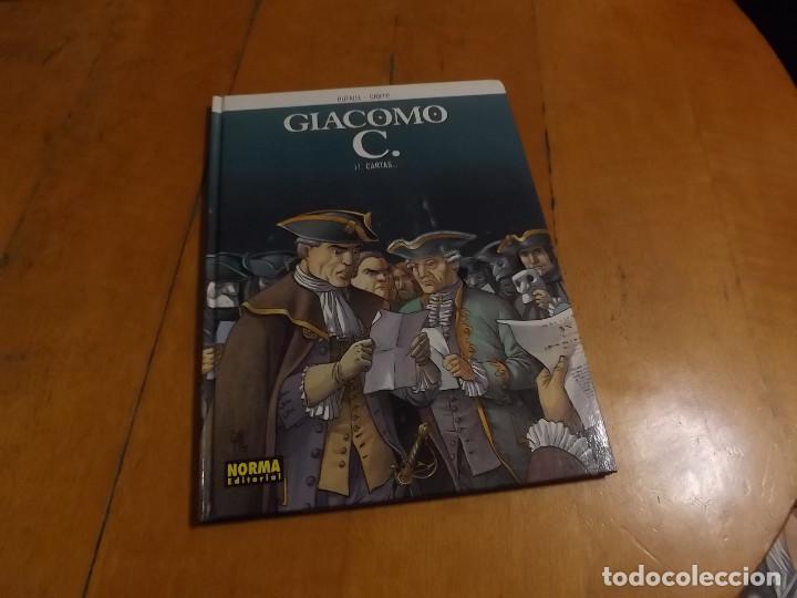 GIACOMO C. - Nº 11 - CARTAS - DUFAUX - GRIFFO - NORMA EDITORIAL (Tebeos y Comics - Norma - Comic Europeo)