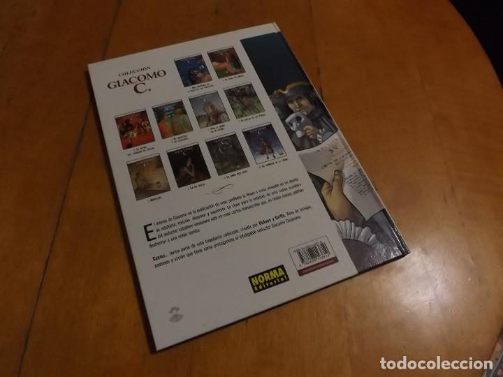 Cómics: GIACOMO C. - Nº 11 - CARTAS - DUFAUX - GRIFFO - NORMA EDITORIAL - Foto 2 - 222486956