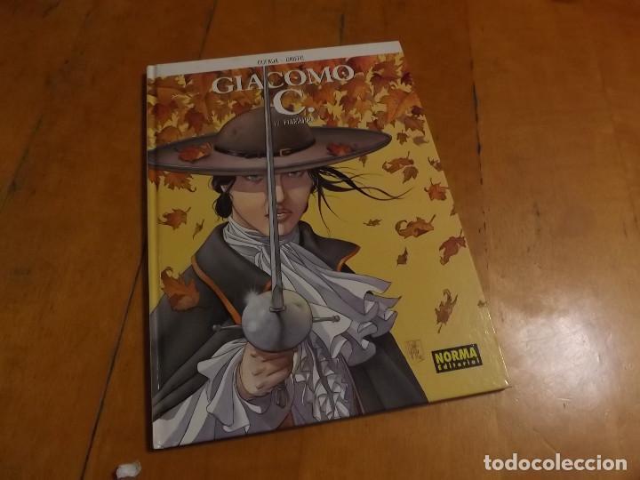 GIACOMO C. - Nº 12 FIAMMINA - DUFAUX - GRIFFO - NORMA EDITORIAL (Tebeos y Comics - Norma - Comic Europeo)