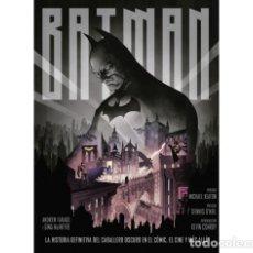 Cómics: BATMAN: LA HISTORIA DEFINITIVA DEL CABALLERO OSCURO EN EL CÓMIC, EL CINE Y MÁS ALLÁ - NORMA - OFM15. Lote 222653821