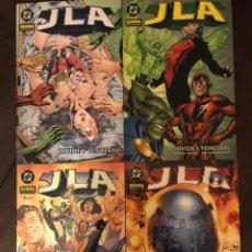 Cómics: JLA DIVIDE Y VENCERÁS COMPLETA 1 2 3 4 NORMA DC COMICS. Lote 222655125