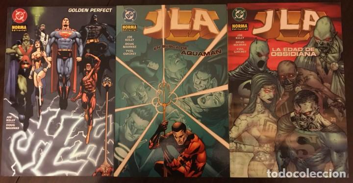JLA DE JOE KELLY COMPLETA 3 TOMOS NORMA EDITORIAL DC COMICS (Tebeos y Comics - Norma - Comic USA)