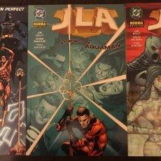 Cómics: JLA DE JOE KELLY COMPLETA 3 TOMOS NORMA EDITORIAL DC COMICS. Lote 222656336