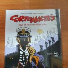 Cómics: CORTO MALTÉS BAJO EL SOL DE MEDIANOCHE DE JUAN DÍAZ CANALES Y RUBÉN PELLEJERO NORMA EDITORIAL. Lote 222690970
