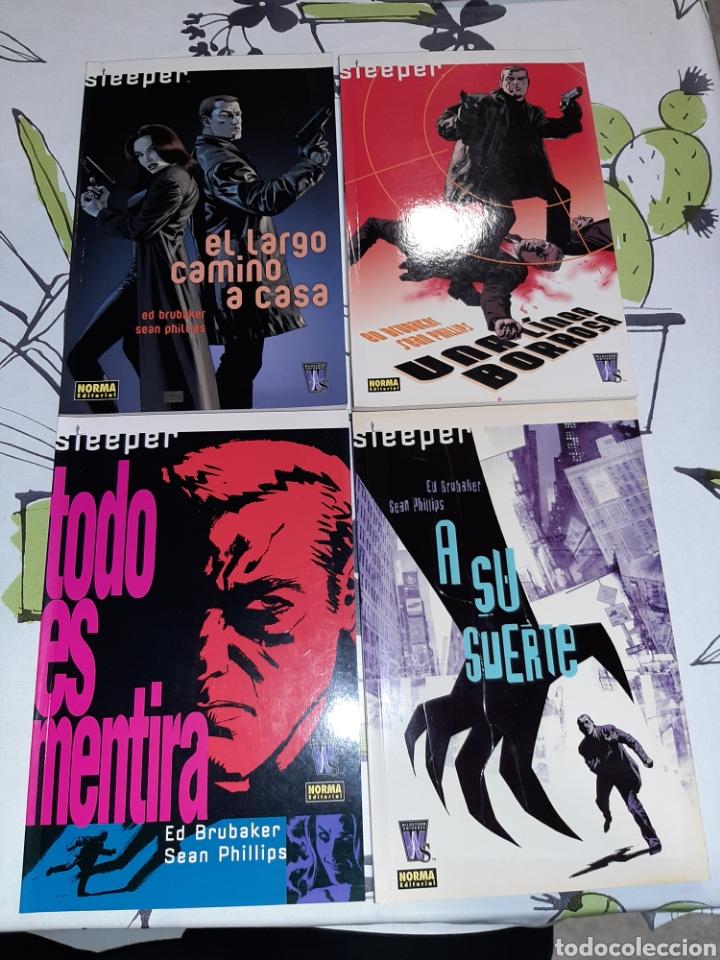 SLEEPER 1 AL 4, COMPLETA, ED BRUBAKER, NORMA (Tebeos y Comics - Norma - Comic USA)