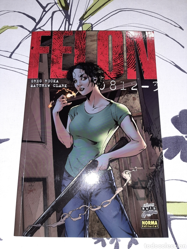 FELON, GREG RUCKA, NOEMA COLECCION CÓMIC NOIR (Tebeos y Comics - Norma - Comic USA)