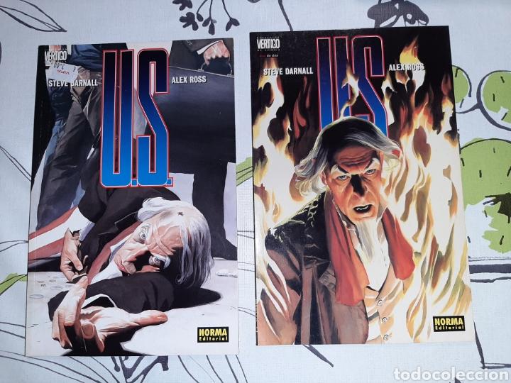 U.S. DE ALEX ROSS, NORMA , COMPLETA (Tebeos y Comics - Norma - Comic USA)