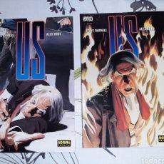 Cómics: U.S. DE ALEX ROSS, NORMA , COMPLETA. Lote 222704330