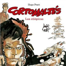 Cómics: CÓMICS. CORTO MALTÉS 05. LAS ETIÓPICAS - HUGO PRATT (CARTONÉ). Lote 222719368
