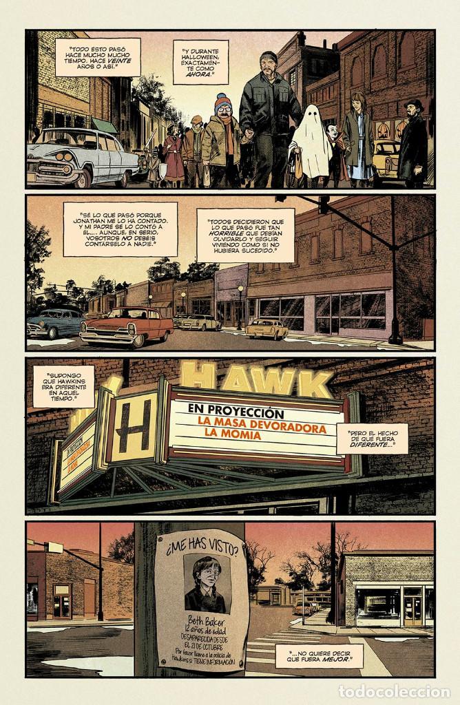 Cómics: Cómics. STRANGER THINGS. ESPECIAL HALLOWEEN - Michael Moreci / Todor Hristov / Chris O'Halloran - Foto 5 - 222750892