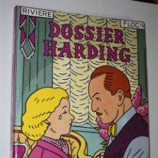 Cómics: DOSSIER HARDING ( DE RIVIERE & FLOCH ) TAPA DURA- - NORMA. Lote 222755358