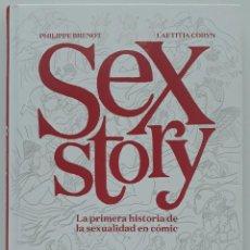 Cómics: SEX STORY, LA PRIMERA HISTORIA DE LA SEXUALIDAD EN CÓMIC (NORMA ED. PRIMERA EDICIÓN 2018). Lote 222814271