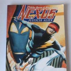 Cómics: NEXUS: JUSTICIA ALIEN - NORMA EDITORIAL. Lote 222962950