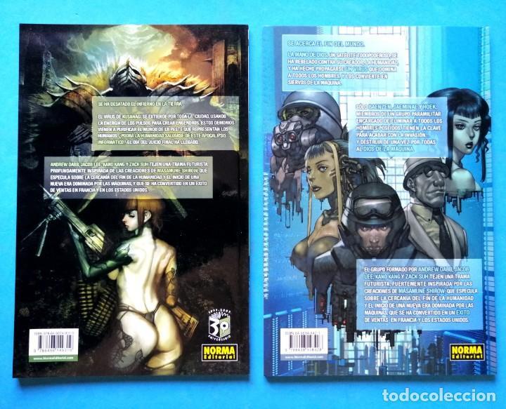 Cómics: MEGACITY 909 (1 Y 2 COMPLETA) COL. EL DÍA DESPUÉS Nº 12 Y 15 NORMA 2006 MUY BUEN ESTADO - Foto 4 - 223499476