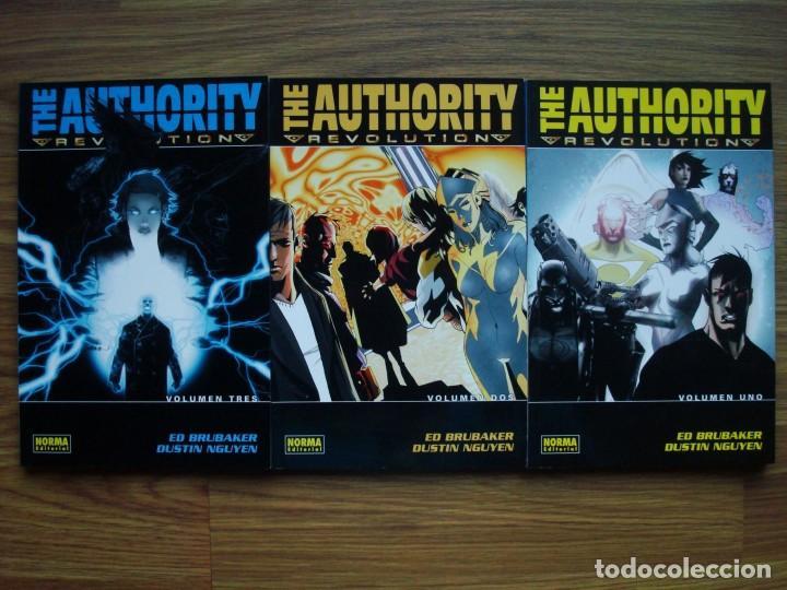 THE AUTHORITY - REVOLUTION TOMOS 1 AL 3 COLECCIÓN COMPLETA (1, 2, 3) (Tebeos y Comics - Norma - Comic USA)