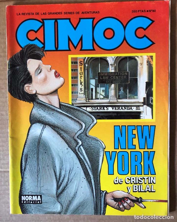CÓMIC CIMOC (Tebeos y Comics - Norma - Cimoc)