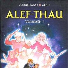 Cómics: ALEF THAU 1 2 COMPLETA - NORMA / EDICION INTEGRAL / TAPA DURA / JODOROWSKY & ARNO. Lote 223777802