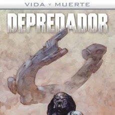 Comics: VIDA Y MUERTE 1 2 3 4 : ALIENS & DEPREDADOR COMPLETA - NORMA / DARK HORSE / TAPA DURA. Lote 223789062