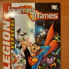 Comics: JÓVENES TITANES LEGIÓN ESPECIAL GEOFF JOHNS MARK WAID IVAN REIS MARC CAMPOS. Lote 223888357