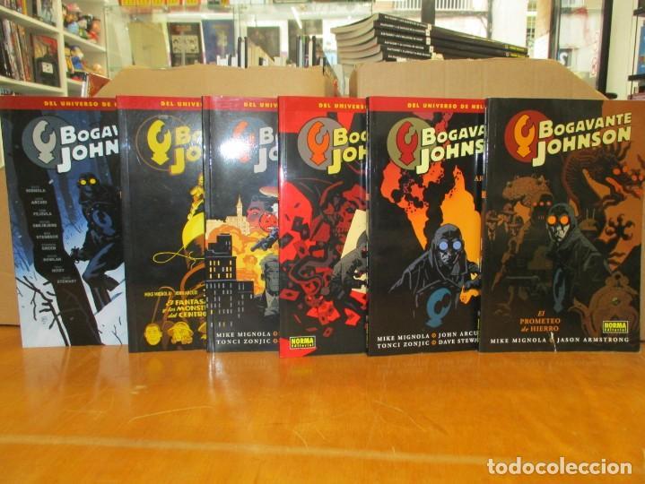 UNIVERSO HELLBOY / BOGAVANTE JOHNSON / COMPLETA 6 NUMEROS / NORMA COMICS (Tebeos y Comics - Norma - Comic USA)
