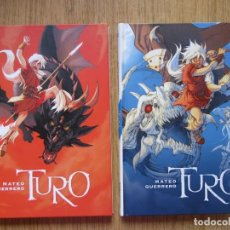 Cómics: TURO - COMPLETA 2 TOMOS - GUERRERO - NORMA - TAPA DURA - MUY BUENO. Lote 223973268