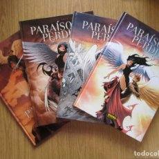 Cómics: PARAISO PERDIDO - COMPLETA 4 TOMOS - ANGE, VARANDA Y LYSE - NORMA - TAPA DURA - MUY BUENO. Lote 223974818