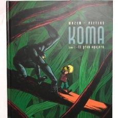 Cómics: KOMA - TOMO 2 - EL GRAN AGUJERO - WAZEM - PEETERS - DIB.BUKS - MUY BUENO, PASTA DURA. Lote 224108950