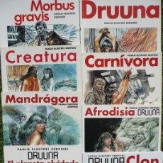 Fumetti: DRUUNA. SERPIERI, COMPLETA 8 VOLÚMENES, 1991 - 2004.. Lote 221894252