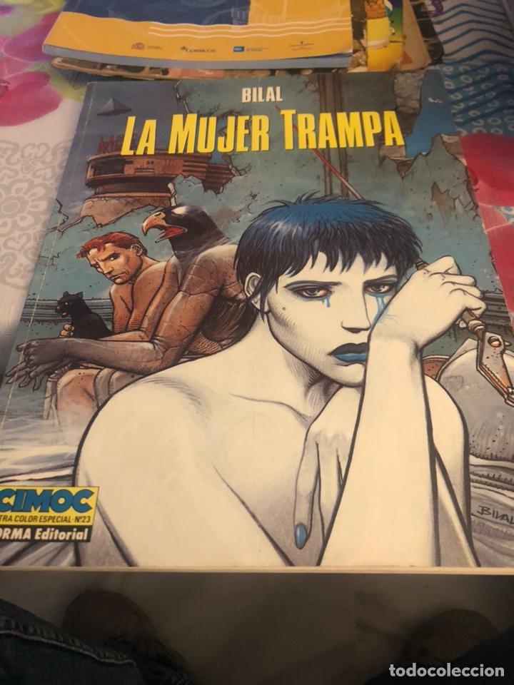 CÓMIC LA MUJER TRAMPA (Tebeos y Comics - Norma - Cimoc)