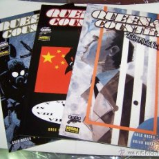 Cómics: QUEEN COUNTRY CONFIDENCIAL COMPLETA 1 A 3 - COLECCION COMIC NOIR Nº 16- 31 Y 34 - NORMA - OFM15. Lote 224459552
