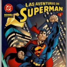 Comics: LAS AVENTURAS DE SUPERMAN - Nº 4 - NORMA - COMIC-124 , BUEN ESTADO. Lote 224663531