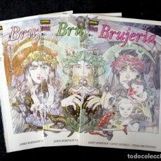 Cómics: BRUJERIA (3 NÚMEROS - COMPLETA) COL. VÉRTIGO Nº 88, 94 Y 98 - NORMA 1999 MUY BUEN ESTADO (6 FOTOS). Lote 224684593